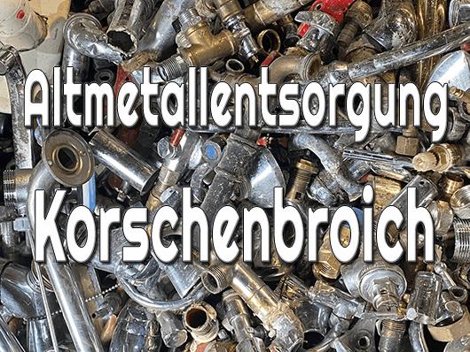 Altmetallentsorgung Korschenbroich