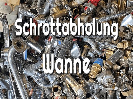 Schrottabholung Wanne
