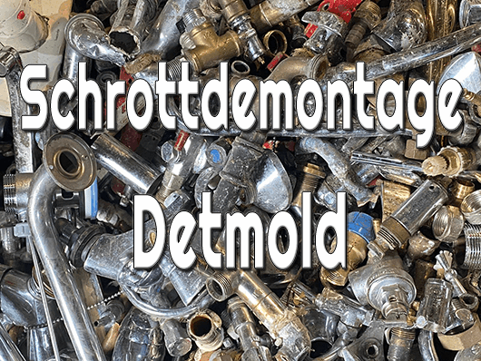 Schrottdemontage Detmold