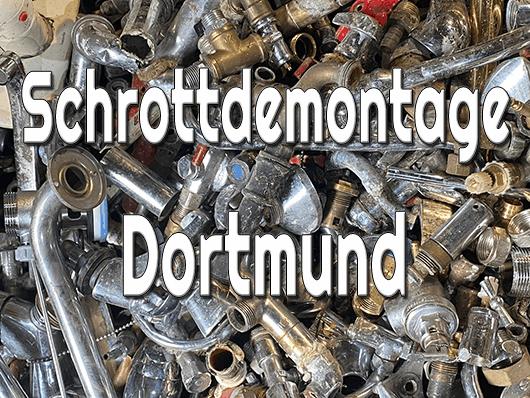 Schrottdemontage Dortmund