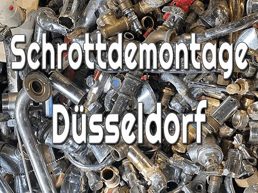 Schrottdemontage Düsseldorf