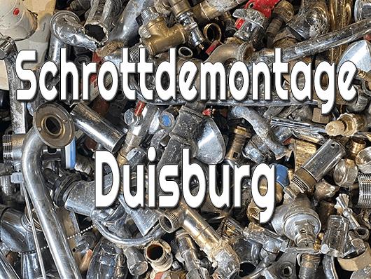 Schrottdemontage Duisburg