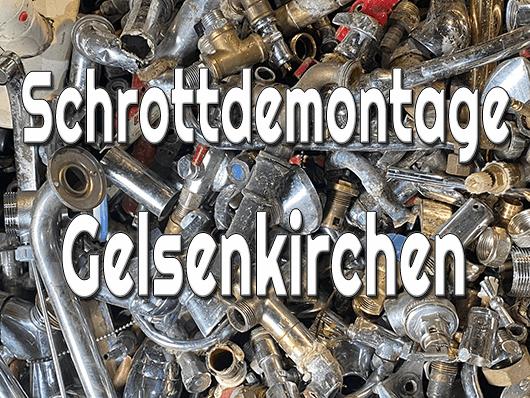 Schrottdemontage Gelsenkirchen