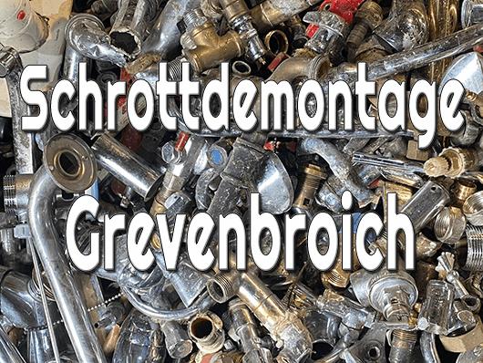 Schrottdemontage Grevenbroich