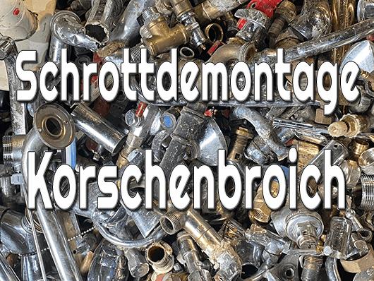 Schrottdemontage Korschenbroich