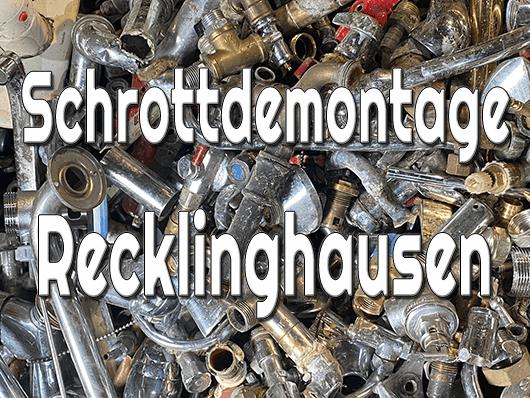 Schrottdemontage Recklinghausen