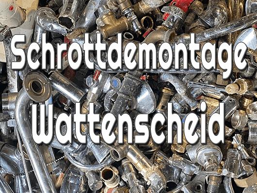 Schrottdemontage Wattenscheid