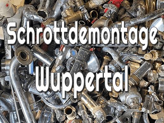 Schrottdemontage Wuppertal